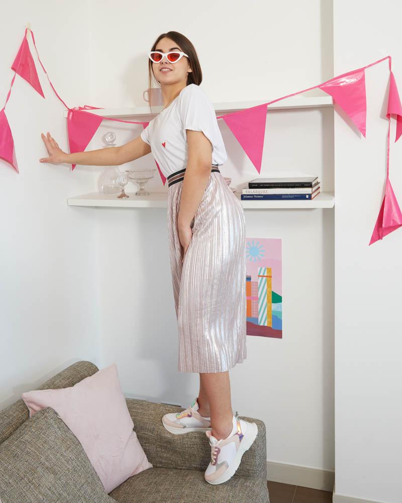 sneaker rosa da ragazza lolway C4A-LAWRIE-0990X054
