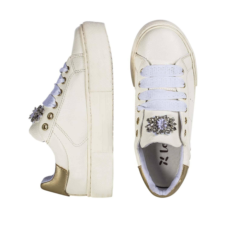 sneaker gianet lolway bianca da ragazza C4A-GIANET-0193X048